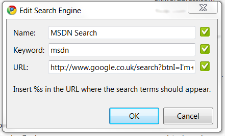 Edit Search Engine