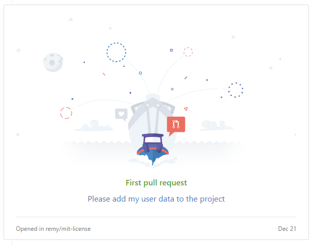 First Pull Request