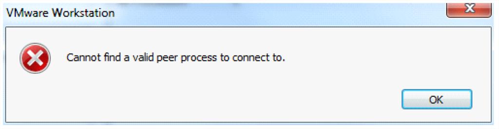 Further VMWare Workstation Error