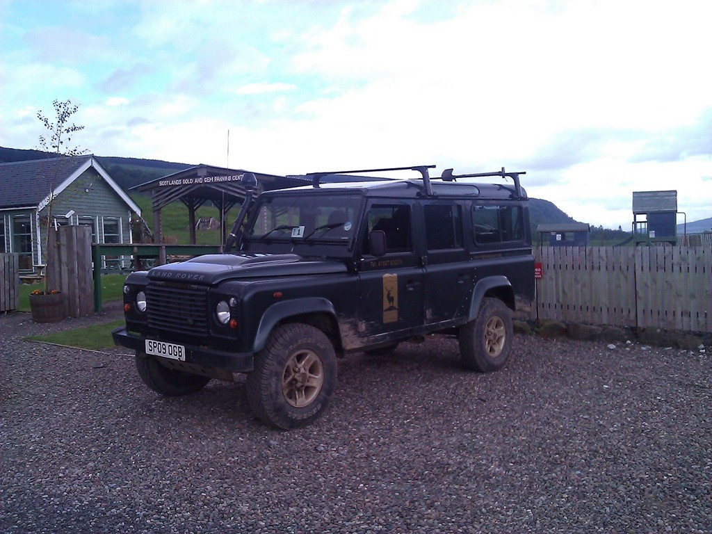 Our Landrover for the day
