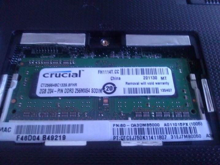 RAM Installed