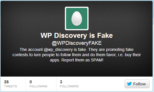 WP Discovery is FAKE