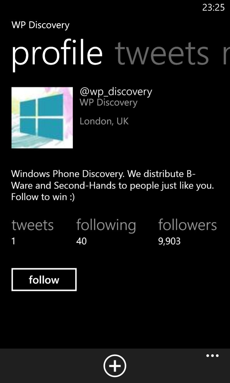 WP Discovery Profile