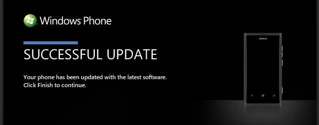 Update of Windows Phone 7 Complete