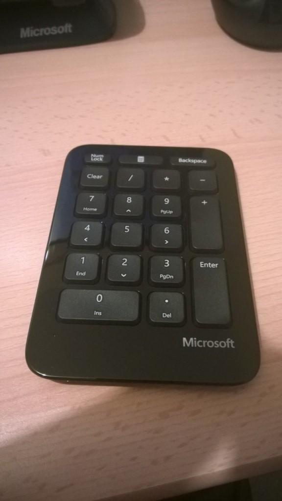 Microsoft Sculpt Number Pad