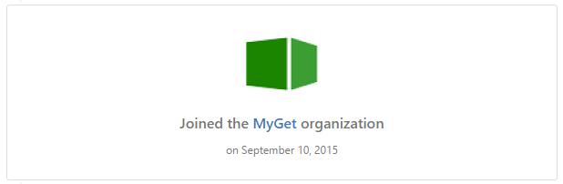 MyGet Organisation on GitHub