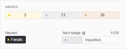 Stack Overflow Badges