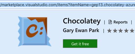 Chocolatey Get It Free