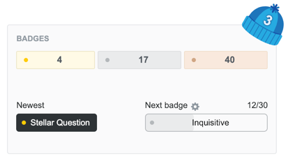 Stack Overflow Badges
