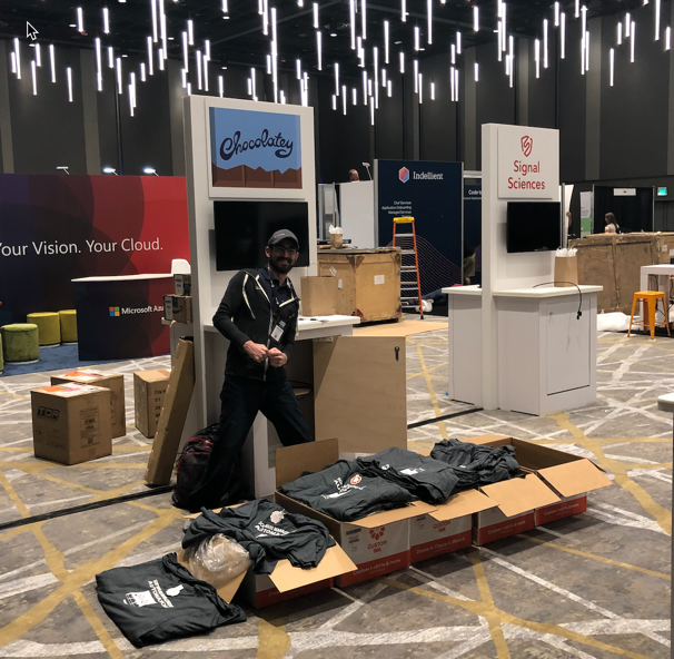 Setting Up at Chef Conf