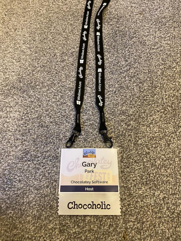 Chocolatey Fest Lanyard