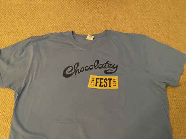 Chocolatey Fest Front